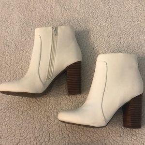 MIA White Booties NEW